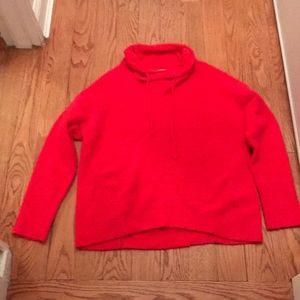 Lou & Grey Hit Pink Fuzzy Sweater